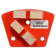 Diamantwerkzeug MKS Super-Wing Rot Korn 1