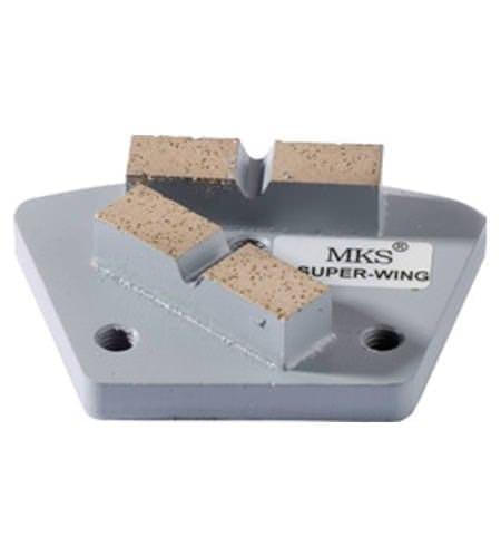 Diamantwerkzeug MKS Super-Wing Grau Korn 1