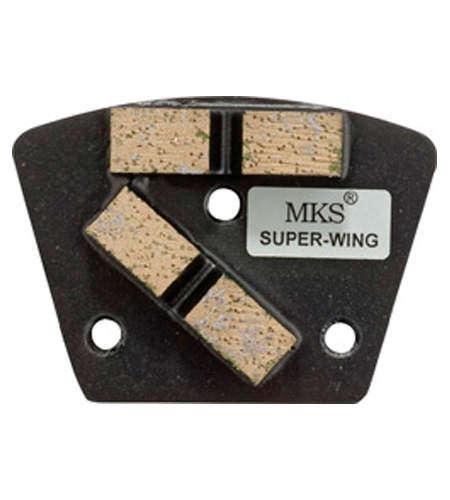 Diamantwerkzeug MKS Super-Wing Schwarz Korn 1