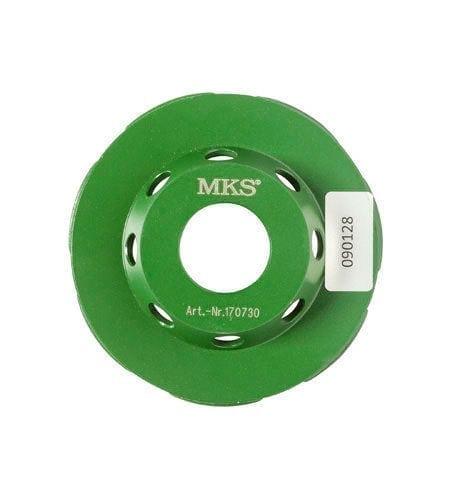 Schleiftopf MKS Cut-Maxx dunkelgreun 80 mm