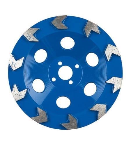 Schleiftopf MKS XC Arrow blau