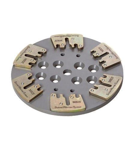 Werkzeugaufnahme für Eraser 270 Betonschleifer