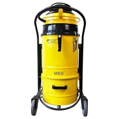 M-JET 2-56 Filterreinigung mit Kurbel Rückansicht