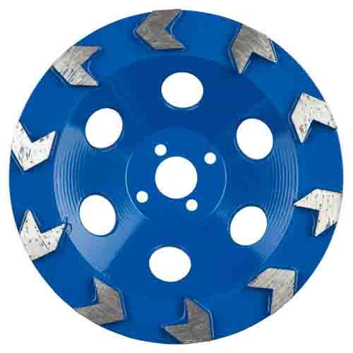 XC-ARROW-Schleiftopf blau
