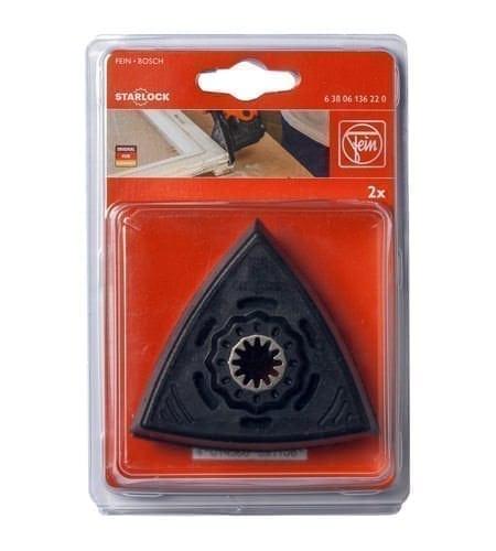 Klettaufnahme Form Dreieck für Fein Dreieckschleifer
