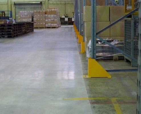 Optimierter Industrieboden Vergleich vorher nachher
