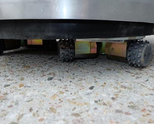 Untergrundvorbereitung mit MKS Freezer Werkzeugen