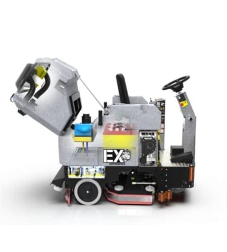 Aufsitz-Scheuersaugmaschine TOMCAT EX HD